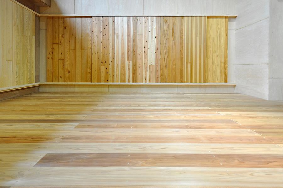 剣道場床 施工画像 東京都 五感剣道場 警視庁術科センター近隣