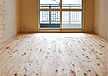 国産 針葉樹 阿波 桧フローリング 施工事例(品番:AH-20)床暖房対応 サイズ 長さ:1920mm×108mm巾×厚み15mm 16枚入 節有 生節 埋木有り  自然オイルワックス塗装仕上げ 框 階段材 檜羽目板(天井板、腰板用)など天然ヒノキ内装部材あり