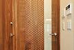 ブラック ウォールナット なぐり 凪柄 無垢 フローリング 品番:BW-01 1820mmx130mm巾x15mm厚 7枚入り 自然オイルワックス塗装仕上げ