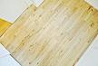 東京都 どんぐり フローリング施工画像 広葉樹木材 品番:DO-03 オスモ オイルワックス塗装仕上げ 節有 ショールーム展示 框材 101mm巾x15mm厚 18枚入り