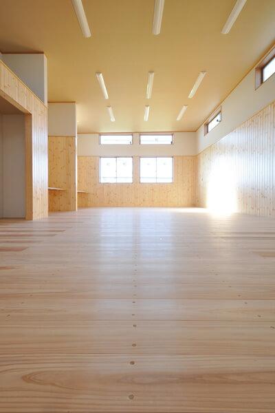 剣道場床 施工画像 茨城県 個人宅