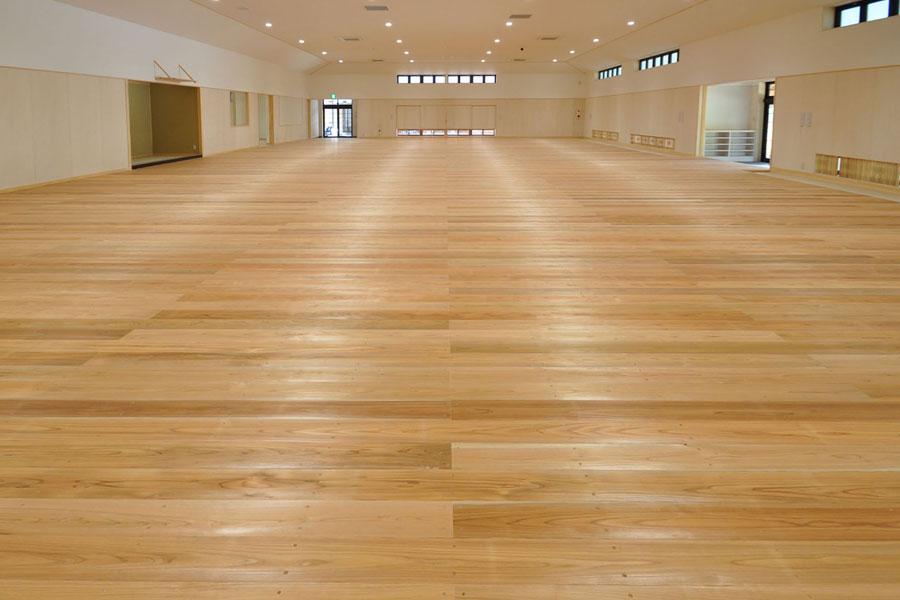 香川県 三菱マテリアル 剣道場床 最適な踏み込み