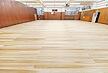剣道場床 剣道場フローリング 施工画像 針葉樹 杉と桧 無垢木材と集成 ウレタンとカンナ仕上げ