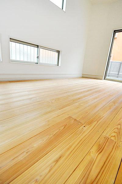 剣道場専用床材施工例 東京都西東京市 個人宅・ミサワホーム
