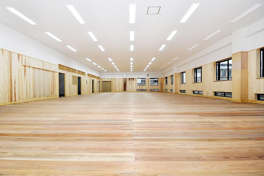 栃木県佐野市 佐野日大中学・高校武道館