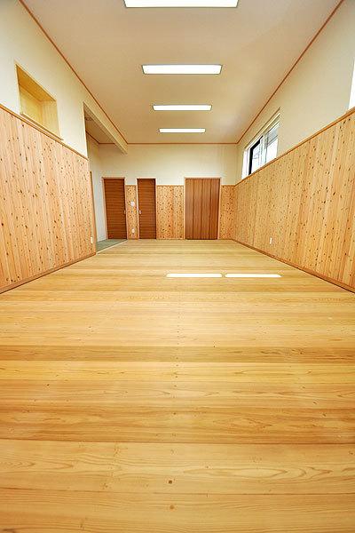 剣道場専用床材施工例 宮城県仙台市 個人宅
