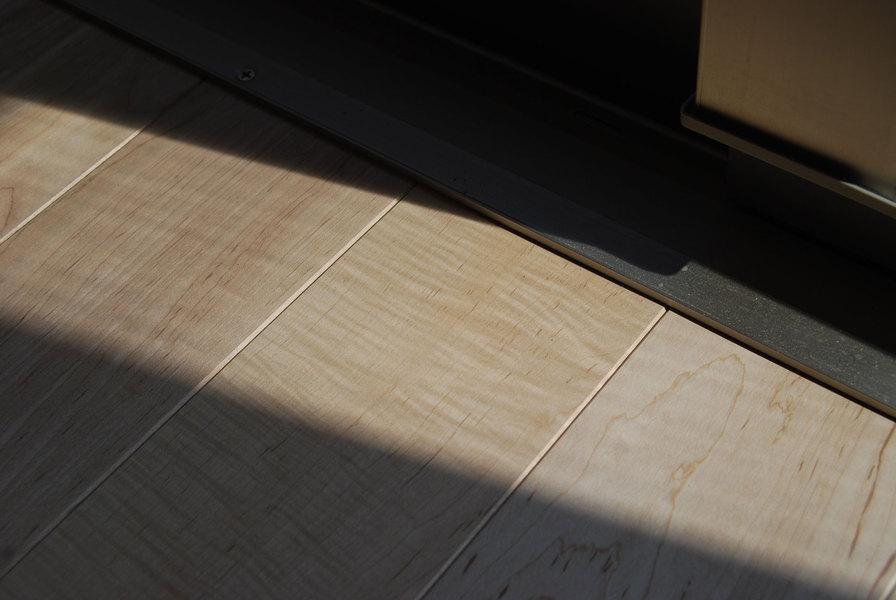 シルキーメイプル 無垢フローリング 施工例(SM-11)