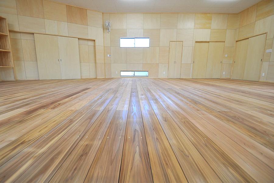 剣道場専用床材施工例 愛知県東海市 個人宅
