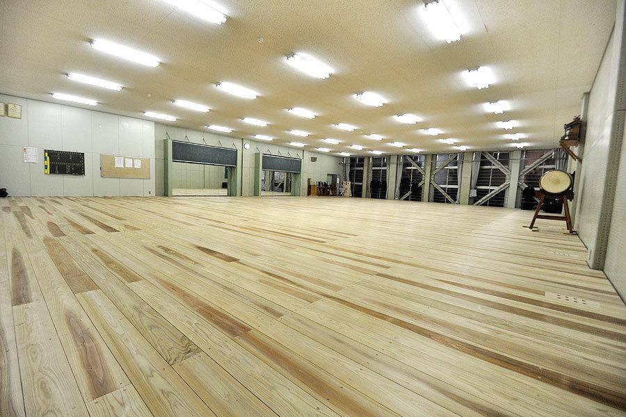 剣道場専用床材施工例 千葉県船橋市 東京学館高等学校